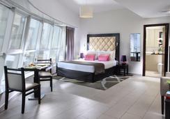奥瑞丝地铁中央宾馆公寓 - 迪拜 - 睡房