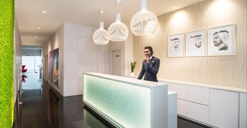 奥瑞丝地铁中央宾馆公寓 - 迪拜 - 柜台