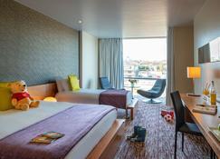 D酒店 - 德罗赫达 - 睡房