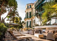 西尔瓦别墅Spa酒店 - 圣雷莫 - 露台