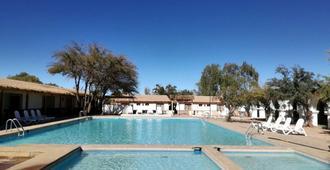 圣佩德罗德阿塔卡马-迭戈·阿尔马格罗酒店 - 圣佩德罗-德阿塔卡马 - 游泳池