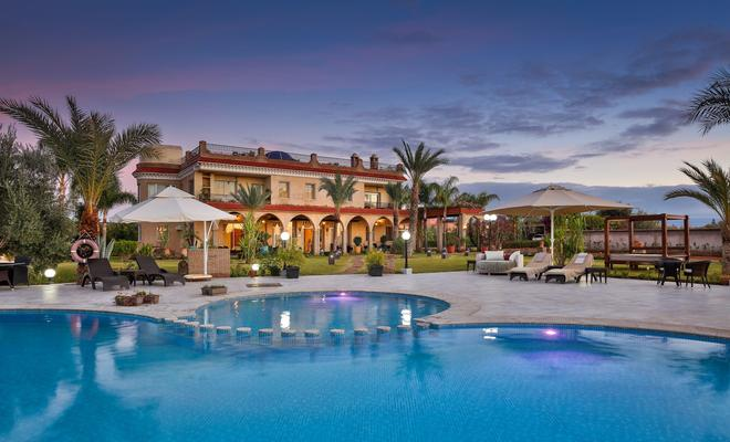 阿玛多宫殿度假酒店 - 马拉喀什 - 游泳池