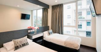 新加坡尼斯价值酒店 - 新加坡 - 睡房