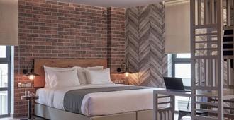 米康海峡18号酒店 - 雅典 - 睡房