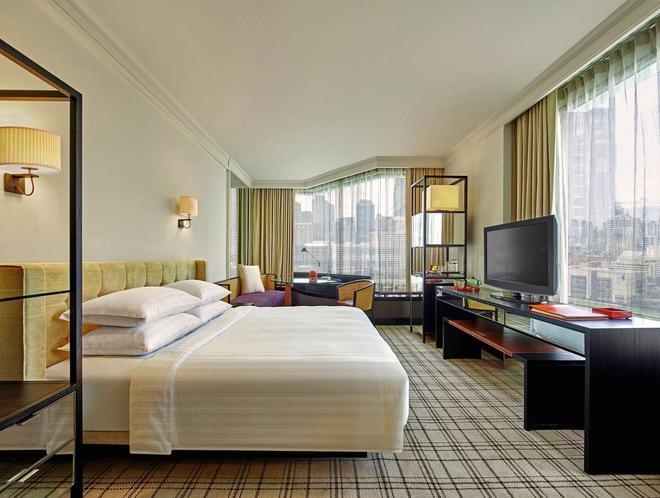 曼谷君悦酒店 - 曼谷 - 睡房