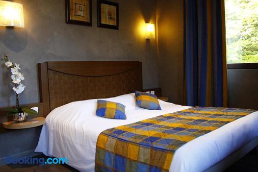 马克萨酒店 - 安纳西 - 睡房