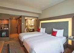 加尔各答诺富特酒店及公寓 - 加尔各答 - 睡房