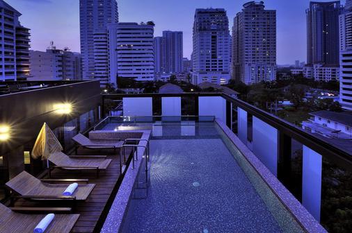 德瓦利迪瓦赫提曲酒店 - 曼谷 - 阳台