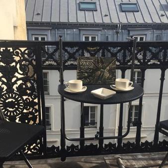 科利塞皇家酒店 - 巴黎 - 阳台