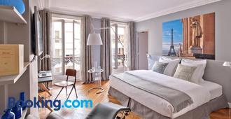 你我之家住宿加早餐旅馆 - 巴黎 - 睡房