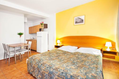 兹科夫公寓酒店 - 布拉格 - 睡房