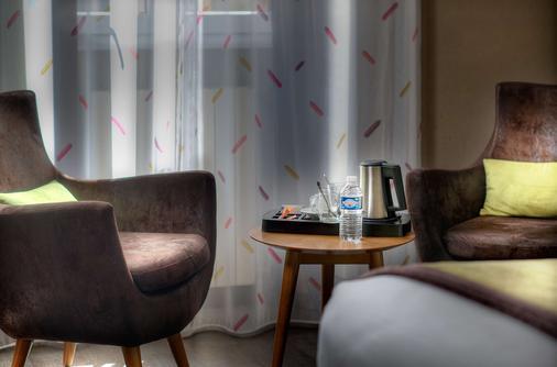 贝斯特韦斯特尼斯马德里酒店 - 尼斯 - 睡房