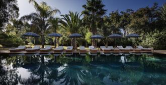 埃萨拉棕榈园别墅旅馆 - 马拉喀什 - 游泳池