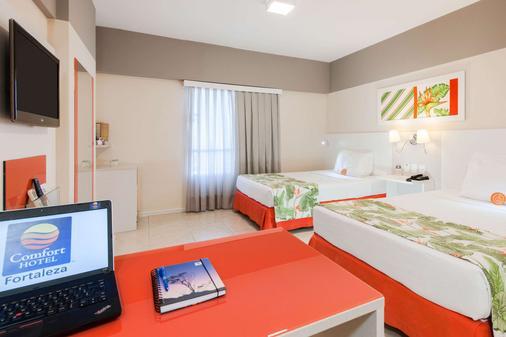 福塔雷萨舒适酒店 - 福塔莱萨 - 睡房