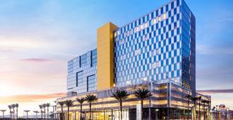 万豪圣地亚哥市中心/海湾春季山丘套房酒店 - 圣地亚哥 - 建筑