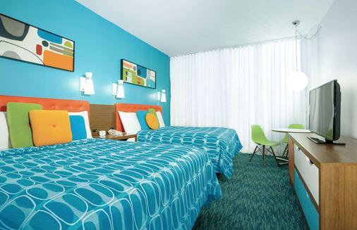 卡巴纳湾海滩度假酒店 - 奥兰多 - 睡房