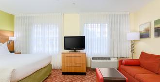 休斯顿布鲁克万豪广场套房酒店 - 休斯顿 - 睡房