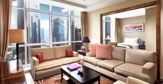 雅加达 Cozmo 奥卓豪景酒店公寓 - 雅加达 - 客厅