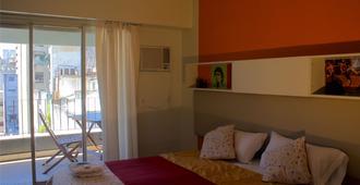 佛罗里达套房旅馆 - 布宜诺斯艾利斯 - 睡房