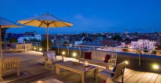 布鲁塞尔欧洲索菲特酒店 - 布鲁塞尔 - 阳台