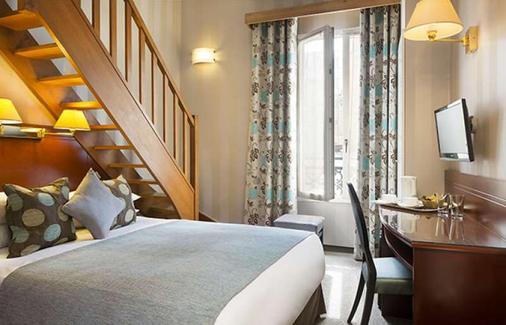 艾斯贝斯酒店 - 勒瓦卢瓦-佩雷 - 睡房