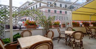 诺瓦多姆斯品质酒店 - 罗马 - 露台