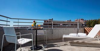 阿巴桑兹酒店 - 巴塞罗那 - 阳台
