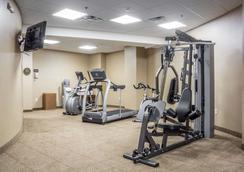 尼亚加拉瀑布波音特康福特茵酒店 - 尼亚加拉瀑布 - 健身房