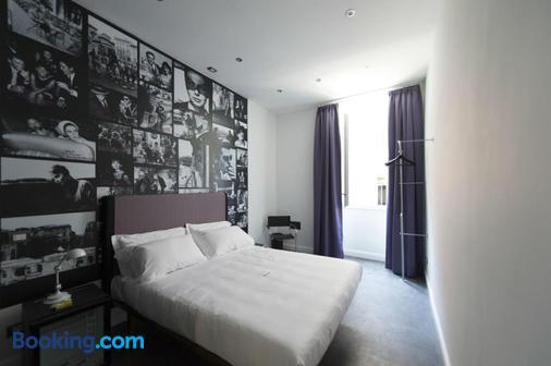 瑞皮塔瑞莱斯酒店 - 罗马 - 睡房