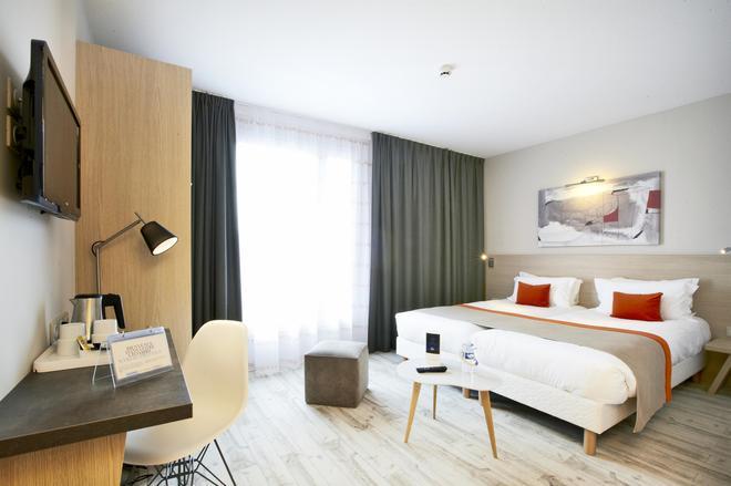 吉利亚德尊贵酒店-瓦纳中心艺术宫 - 瓦纳 - 睡房