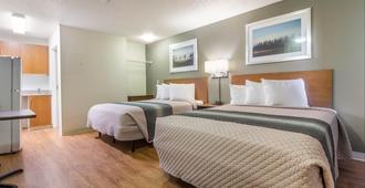 休斯顿 - 西北家乡开放式客房红屋顶酒店 - 休斯顿 - 睡房