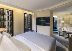 巴塞罗那H10第一酒店 - 巴塞罗那 - 睡房