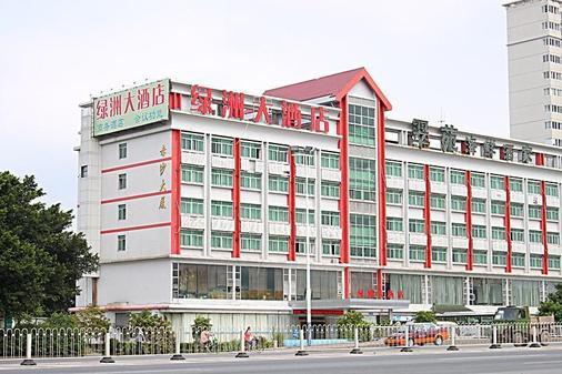 广州绿洲大酒店 - 广州 - 建筑