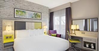 曼城中心朱丽斯酒店 - 曼彻斯特 - 睡房