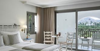白垩马里斯海滩度假酒店 - 赫索尼索斯 - 睡房