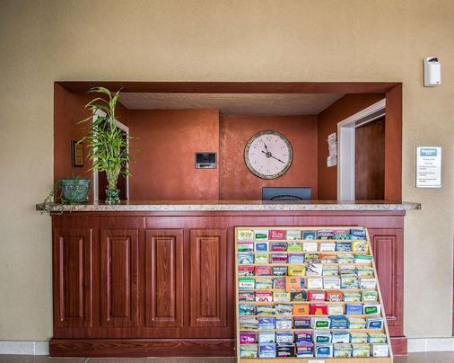 盖恩斯维尔大学区罗德威酒店 - 盖恩斯维尔 - 柜台
