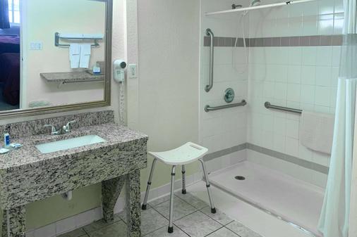 盖恩斯维尔大学区罗德威酒店 - 盖恩斯维尔 - 浴室