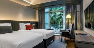 铂尔曼曼谷皇权酒店 - 曼谷 - 睡房