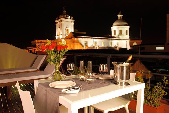 阿波尔夏尔姆精品酒店 - 圣玛尔塔 - 阳台