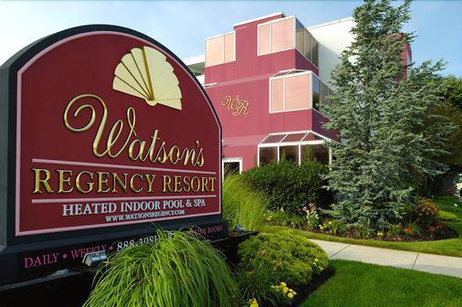 沃尔森摄政酒店 - 大洋城 - 建筑