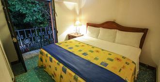 纳斯奥纳尔酒店 - 瓦哈卡 - 睡房
