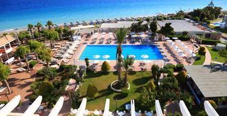 蓝湾海滩酒店 - Ialysos - 游泳池