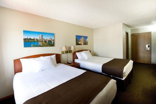 海滨汽车旅馆 - 萨斯卡通 - 睡房