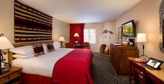 总督旅馆 - 圣达菲 - 睡房