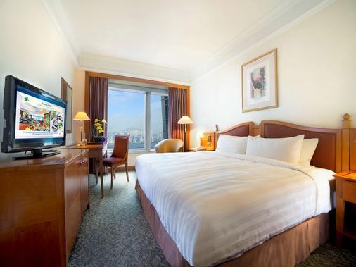北角海逸酒店 - 香港 - 睡房