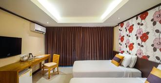 曼谷阿瓦纳酒店 - 曼谷 - 睡房