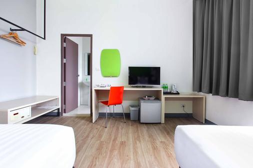 曼谷玛卡萨富驿时尚酒店 - 曼谷 - 睡房