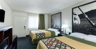 速8海洋世界动物园酒店 - 圣地亚哥 - 睡房