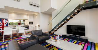 阿吉公寓酒店 - 悉尼 - 客厅