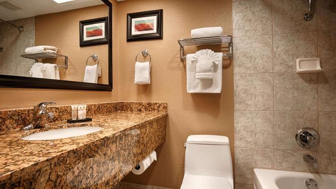 贝斯特韦斯特普拉斯皇家赌场酒店 - 拉斯维加斯 - 浴室